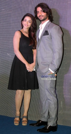Anaika Soti and Puneet Singh Ratn during the Satya 2 theatrical trailer launch