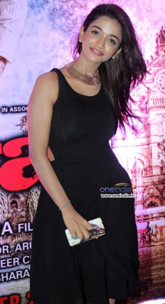 Anaika Soti during the Ram Gopal Varma's film Satya 2 theatrical trailer launch