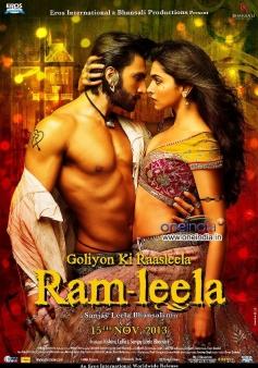 Ram Leela 4th poster - English