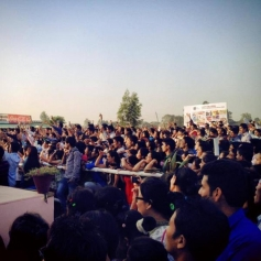 Ram Leela promotion at ITFT College in Chandigarh