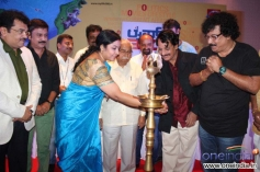 Ramesh Aravind, Tara, Darshan, T. N. Seetharam at Life 360 Magazine Launch