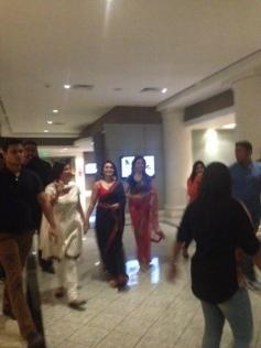 Rani Mukerji arrive Auckland for Temptation Reloaded 2013