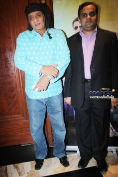 Ranjeet and Anirudh Dhoot at the launch of music album Gori Tere Naina