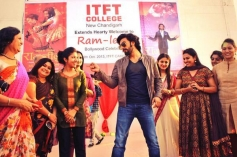 Ranveer Singh conversation with college students at ITFT College in Chandigarh
