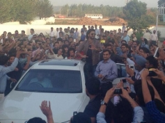Ranveer Singh crowded at ITFT College in Chandigarh