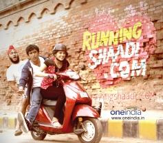 Running Shaadi.com first look still