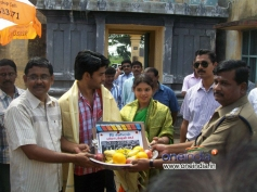 Saaindhaadu Saaindhaadu Working Stills
