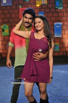 Sagar and Mrudula still from Man of The Match