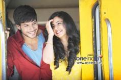 Sandeep Kishan and Rakul Preet Singh in Venkatadri Express