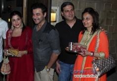 Sanjay Kapoor at Anil Kapoor's Karva Chauth party