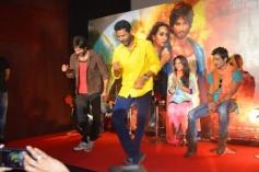 Shahid Kapoor and Prabhu Deva performance at R... Rajkumar film Trailer launch