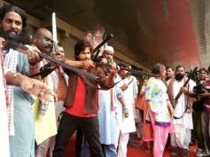 Shahid Kapoor and Sonakshi Sinha arrive at Trailer launch of film R... Rajkumar