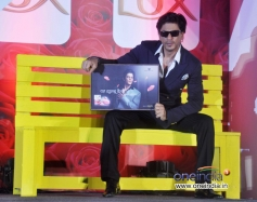 Shahrukh Khan during the LUX Chennai Express Contest Event