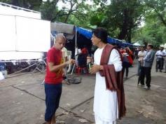 Shahrukh Khan in a Devdas avatar for Nokia Lumia ad shoot