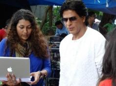 Shahrukh Khan preparing for Nokia Lumia ad shoot