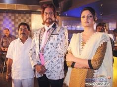 Shakti Kapoor and Ashima Sharma at on location shoot of film Mumbai Can Dance Saala
