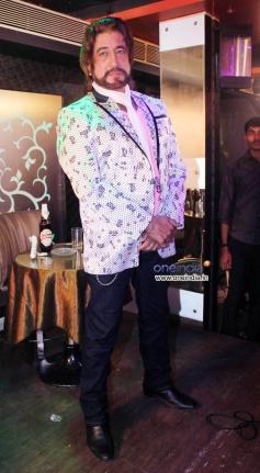 Shakti Kapoor on location shoot of film Mumbai Can Dance Saala