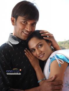 Shankar Aryan and Namitha Rao in Kannada Movie Chitramandiradalli