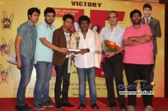 Sharan, Jaggesh at Victory 75 Days Success Meet