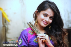 Sheena Shahabadi during her photoshoot for Navratri festival