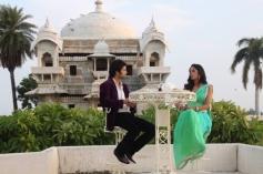 Shooting for bachelorette India in Jagmandir Udaipur