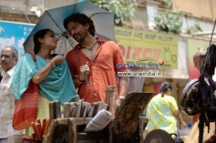 Shruti and Dhananjay in Kannada Movie Raate