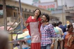 Shruti and Dhananjay in Kannada Movie Raate