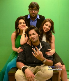 Shuja Ali, Amrita Raichand, Ali Fazal & Anisa at the photoshoot of Vibhu Agarwal's Baat Bann Gayi