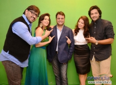 Shuja Ali, Amrita Raichand, Vibhu Agarwal, Anisa & Ali Fazal at the Baat Bann Gayi photoshoot