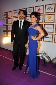 Siddharth and Samantha at Food for Change Charity Show