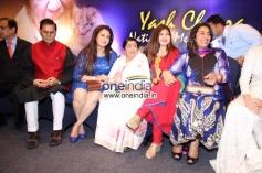 Singer Lata Mangeshkar present at Yash Chopra Memorial Awards 2013