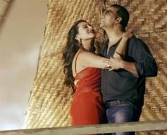 Sonakshi Sinha and Akshay Kumar in Bollywood Movie Boss
