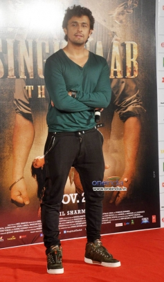 Sonu Nigam at music launch of film Singh Saab The Great