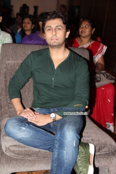 Sonu Nigam at the Music launch of Hindi dubbed Japanese film The Mystical Laws