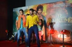 Sonu Sood and Prabhu Deva at the R... Rajkumar film Trailer launch
