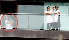 Spotted Picture of Shahrukh Khan Son Abram