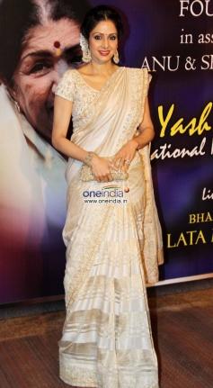 Sridevi Kapoor at the Yash Chopra Memorial Awards 2013