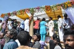Srihari's Last Rites At Bachupally