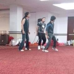 SRK dance rehearsels for Temptation Reloaded 2013