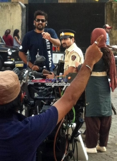 Subhash Ghai on the Sets of Kaanchi