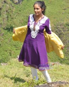 Subhiksha in Film Anjada Gandu