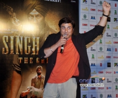 Sunny Deol at music launch of film Singh Saab The Great