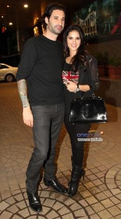 Sunny Leone along with her husband Daniel Webber