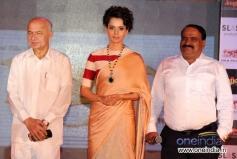 Sushil Kumar Shinde and Kangana Ranaut at Music launch of film Rajjo