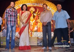Celebs at Durga Pooja celebration 2013