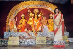 Sushmita Sen attends Durga Pooja celebration 2013