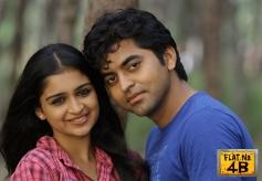 Swarna Thomas and Abid Anwar in Malayalam Movie Flat No. 4B