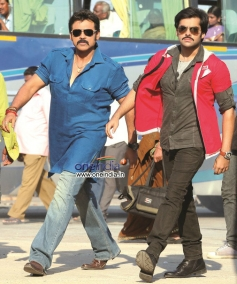 Venkatesh and Ram Pothineni
