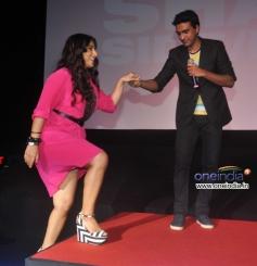 Vidya Balan arrive at trailer launch of film Shaadi Ke Side Effects
