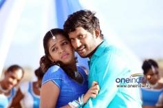 Vishal and Lakshmi Menon in Palnadu Movie